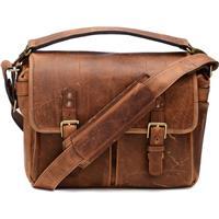 Onan Power The Prince Street Leather Camera Messenger Bag...