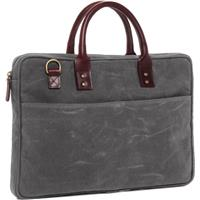"""Onan Power The Kingston 15"""" Laptop Briefcase with Waxed C..."""