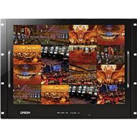 "Orion Images 19RCR 19"" 8U Rack Mount Ready LED Cctv Monitor, 1280X1024"