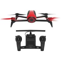 Parrot Bebop 2 Drone with Skycontroller, Red & Black