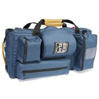 Транспортная сумка-рюкзак-трансформер для легких видеокамер, цвет синий.