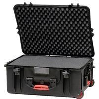 Panasonic Custom Cut Foam Case with Built-In Wheels and T...