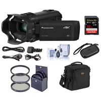 Panasonic HC-VX981K 4K Ultra HD Camcorder with 4K Photo C...