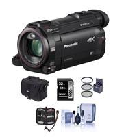 Panasonic HC-WXF991K 4K Ultra HD Camcorder with Wi-Fi - B...