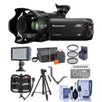 Panasonic HC-WXF991K 4K Ultra HD Camcorder with Wi-Fi, - ...