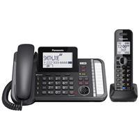 Panasonic KX-TG9581B 2 Line Expandable Link2Cell Telephon...