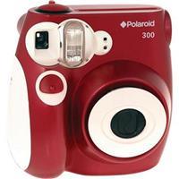 Polaroid Pic 300 Instant Camera, Analog - Red