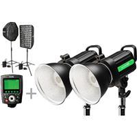 Phottix Indra500 TTL GameChanger 2-Light Kit for Canon Ca...