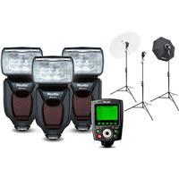 Phottix Mitros+ Portrait Anywhere 3 Kit for Nikon Cameras...