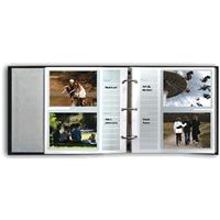 Pioneer Bonded Leather 3 Ring Photo Album Refill, 20 Page...