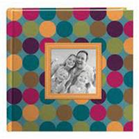 "Designer Raised Frame Photo Album, Holds 200 4x6"" Photos,..."