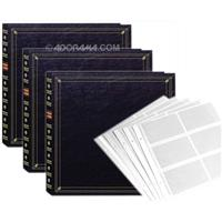 Pioneer Full Size Post Bound, Clear Pocket With Memo Phot...