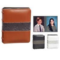 Orleans Series Mini Max Bound Photo Album, Solid Color Co...