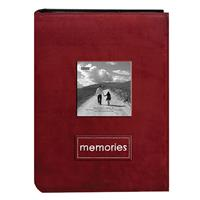 Pioneer Embroidered Patch Faux Suede Photo Album, with Fr...