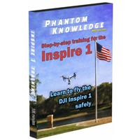 Step-By-Step Training for DJI Inspire 1 Quadcopter (DVD)