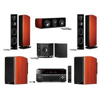 Polk Audio LSiM Speaker Home Theater Bundle with 2x LSiM7...