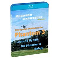 Step-By-Step Training for DJI Phantom 3 Quadcopter (Blu-r...