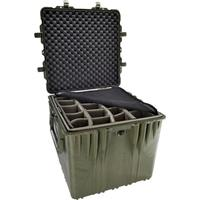 "Pelican 0370 24"" Cube Watertight Case with Padded Divider..."