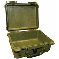 "Pelican 1400 Small Case without Foam, 4"" Bottom Depth, Ol..."