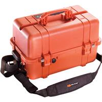 Pelican 1460EMS Case with EMS Organizer/Divider Set, Orange