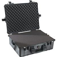 Pelican 1600 Watertight Hard Case with Foam insert - Black