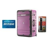 """BA27 27"""" Progear Elite Weekender Luggage, Purple and Blac..."""