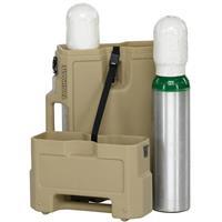 Pelican Tankmate Double Oxygen Bottle Medical Case, Olive...
