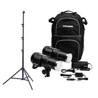 Profoto B1X 500 AirTTL Location Kit, Two Flash Heads, Two...