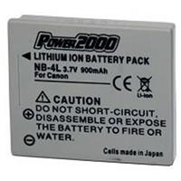 NB-4L Replacement 3.7volt 900mAh Lithium-Ion Battery for ...