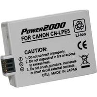 LP-E5 Replacement Lithium-Ion Battery, 7.4 volt 1500mAh, ...