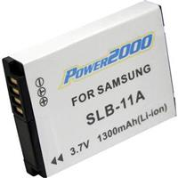 SLB-11A Replacement 3.7v, 1300mAh Lithium Ion Battery for...