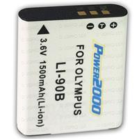 Powerpro Olympus LI-90B Replacement Battery, 3.6V 1500mAh...