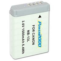 Powerpro NB-13L Replacement Lithium-Ion Battery, 3.6 volt...