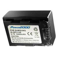 SB-P210E Replacement Lithium-Ion 3.7v, 2400mAh Camcorder ...