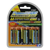 AA Rechargeable Batteries, 1.2V Ni-MH, 2950mAh, 10 Pack