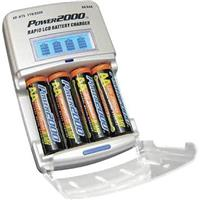 Powerpro XP675 KIT With 4-AA 2700HP Nimh Rechargable Batteries & Universal 110/220V AC LED 3-HOUR Rapid Charger
