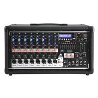 Peavey PV i 8500 8-Input Channel 400Watt Mixer Amplifier,...