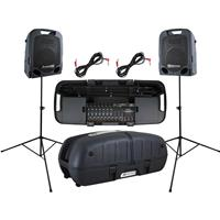 """Peavey Escort 6000 600W Two-Way 10"""" Portable PA System, 3..."""