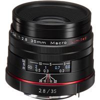 Pentax SMCP-DA 35mm f/2.8 HD Macro Limited Lens - Black, ...