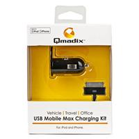 Qmadix USB Mobile Max Charging Kit for Apple iPod and iPh...