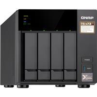 QNAP TS-473 4-Bay NAS Enclosure/iSCSI IP-SAN, AMD RX-421N...