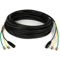 Remote Audio 50' High Definition AV Snake with Two Pairs ...