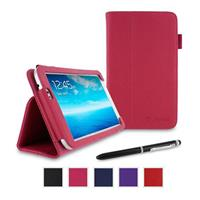 rooCASE Dual Station Vegan Leather Folio Case with Stylus...