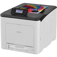 Ricoh SP C360DNw Color LED Printer, 30 ppm Black/Color, 1...