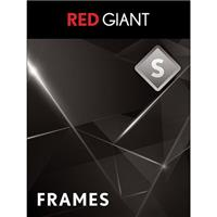 Red Giant Frames Plug-In Software (Download)