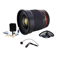 16mm F/2.0 ED AS UMC CS, Manual Focus Lens for Pentax K A...