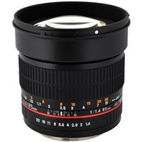 85mm f/1.4 Aspherical, Manual Focus Lens for Pentax DSLR ...