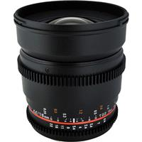 Rokinon 16mm T2.2 Wide Angle Cine Lens for Sony