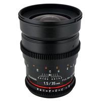 35mm T1.5 Cine Lens for Nikon F