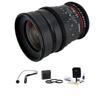 35mm T1.5 Cine Lens for Sony E - Bundle - with Pro Optic ...